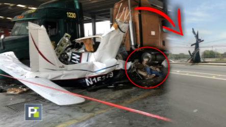 Avioneta Pierde El Control Minutos Después De Despegar Y Se Estrella Dejando 6 Muertos