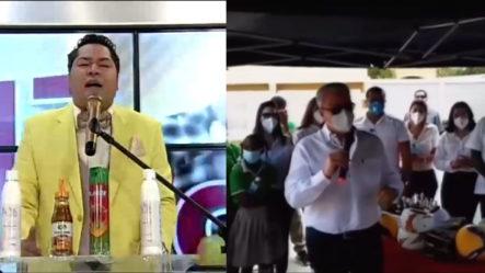 El Pachá Felicita A LisandoMacarrulla Por Donar Su Sueldo Para El Baloncestode San Pedro De Macorís