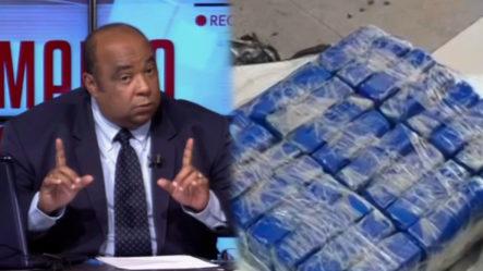 La DNCD Incautan Un Cargamento De Drogas (cocaína Y Marihuana)