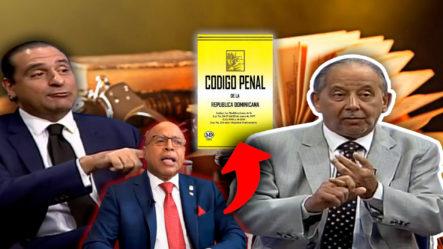 Finjus Explica Con Lujo De Detalles A Huchi Lora Controversia Por Corrupción En Nuevo Código Penal