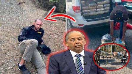 Huchi Lora Revela Todos Los Detalles Detrás De La Detención Del Mayor De La Policía Con 63 Paquetes De Marihuana