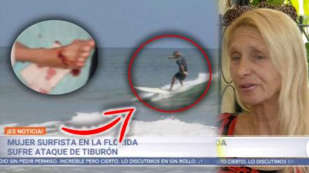 Surfista Cuenta La Historia De Cómo Fue Mordida Por Un Tiburón ¡Sorprendentes Declaraciones!