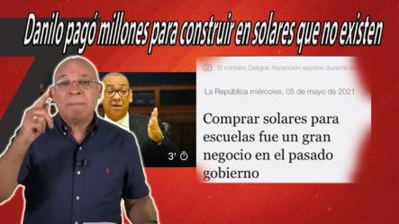 Marino Zapete Dice Que Danilo Medina Pagó Millones Para Construir En Solares Que No Existen