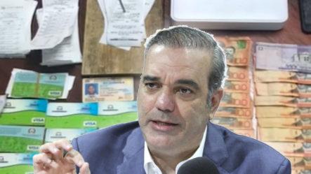 """Luis Abinader Dice: """"todo El Que Comete Estafa Tienen Que Pagarlo"""""""