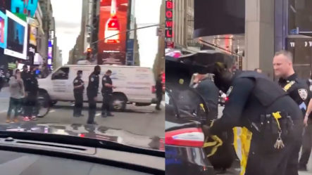 Una Mujer Y Un Bebé Resultan Víctimas De Un Ataque A Tiros En Times Square, N.Y.