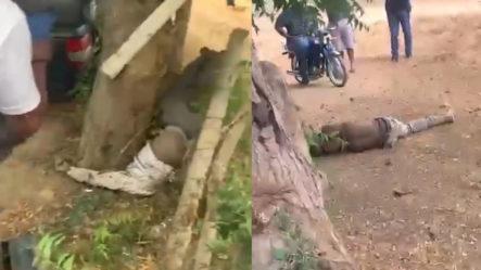 Dos Haitianos Muertos Tras Ser Atropellados Por Una Mujer EnGuayubín (Contenido Sensible)