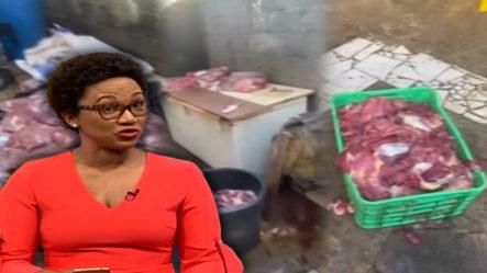 Edith Febles Muestra Imágenes Inéditas De La Carnicería Que Vende Carne De Caballo