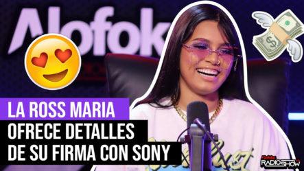 Exclusiva! La Ross Maria Ofrece Detalles De Su Firma Con Sony (la Revelación Del Año En El Soberano)