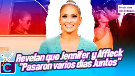 """Revelan Que Jennifer López Y Ben Affleck """"pasaron Varios Días"""" Juntos En Montana"""