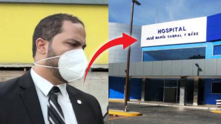 Dos Empleados Detenidos Por Robarse Los Cables Eléctricos Del Hospital Cabral Y Báez