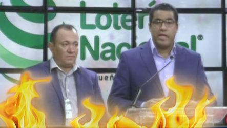 """Director De La Lotería Nacional """"da La Cara"""" Luego De La Estafa Que Conmocionó El Pueblo Dominicano"""