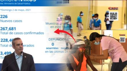 Abinader Admite Brote De Coronavirus Y Pide A La Población Protegerse Mediante Las Medidas Implementadas