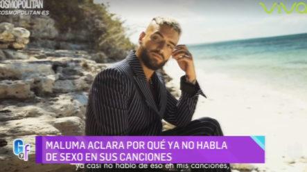 Maluma Revela Porque Ya No Habla Más De Sexo En Sus Canciones (Enterate De Todo)