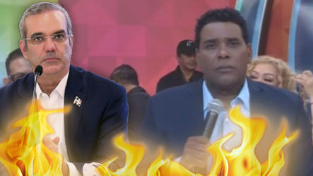 """""""No Somos Su Enemigo""""Jhon Berry Le Manda Un Contundente Mensaje Al Presidente Abinader"""