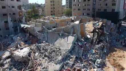 Imágenes De La Ciudad De Gaza En Ruinas Tras 11 Días De Bombardeos De Israel