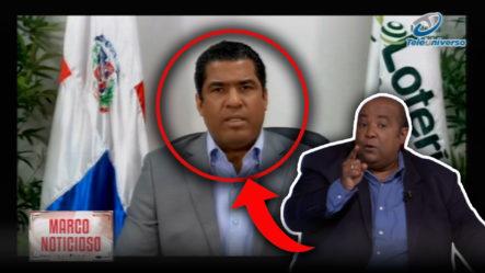 """Pablo Aguilera Dice Que Luis Abinader """"cayó En Una Trampa"""" Con Nombramiento De Presidente De Lotería"""