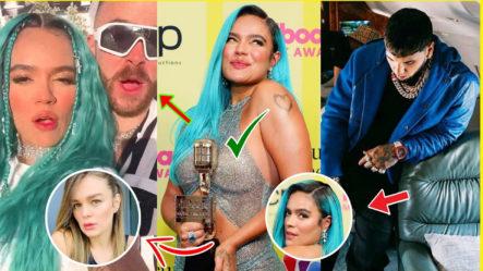 """Karol G Celebra Su """"Premio Billboard"""" Y ¡Mira Con Quien!"""