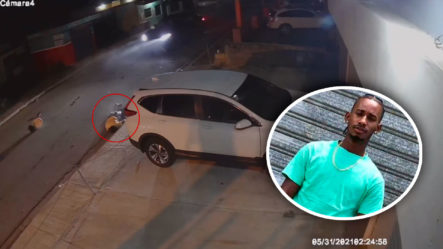 Hombre Atropella A Motorista Y Se Da A Huida Dejándolo Por Muerto ¡Imágenes Fuertes!