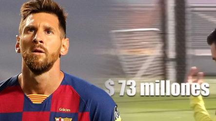 El Contrato Millonario Con El Barcelona Del Futbolista Messi
