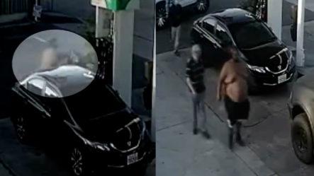 Arrestan Hombre De 400 Libras Que Le Entró A Golpes A Una Mujer En Una Bomba De Gasolina