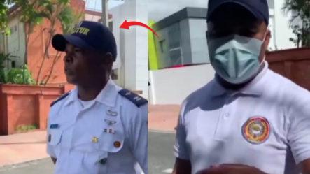 Agentes De CESTUR Hacen La Función De Agentes De DIGESETT Y Detiene Hombre En Plena Vía