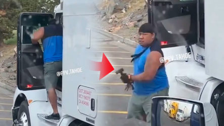 Camioneros Sale Furioso En Colorado ¡Miren Lo Que Hace!