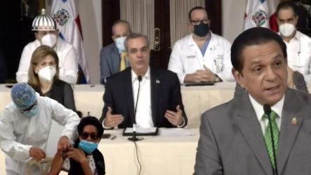 Gobierno Dominicano Sigue Vigente En Poner Tercera Vacuna Para El Covid-19