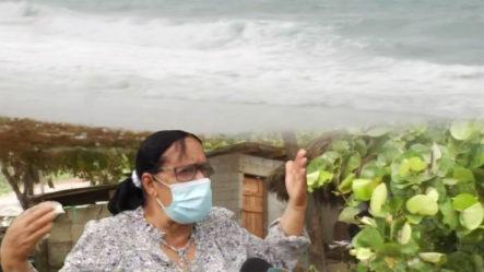Familias Que  Viven Cerca Del Mar En La Provincia De Barahona Piden Reubicación