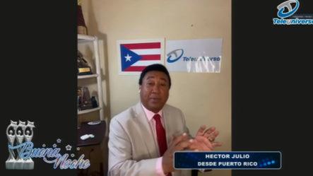 Las Principales Noticias Internacionales Con Héctor Julio En | Buena Noche