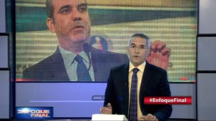 El Presidente Luis Abinader para Contrarrestar Carestía De Alimentos