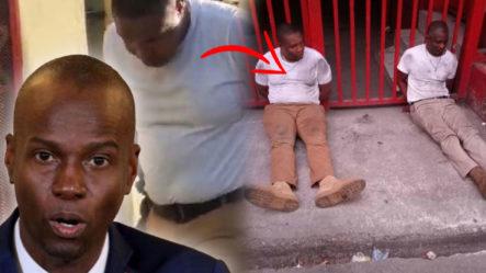 Momento En Que Acorralan A Dos De Los Presuntos Mercenarios Que Presuntamente Asesinaron Al Presidente De Haití