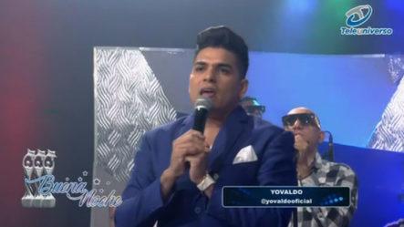 Presentación Musical De Yovaldo En |  Buena Noche