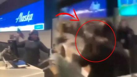 Mujer Pierde El Avión A New York Y Miren Su Fuerte Reacción ¡no Terminó Bien!