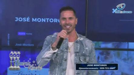 Presentación Musical De José Montoros En |  Buena Noche