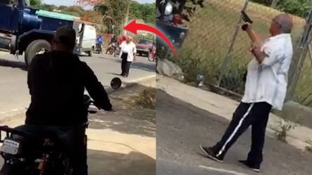 Hombre Impide A Punta De Pistola Que Camión Ingrese A La Carretera
