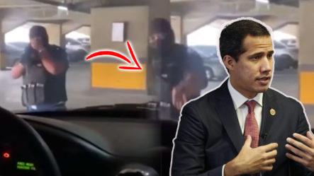 """Así Fue Interceptado Juan Guaidó Por Agentes De Un Grupo De Élite De Las Fuerzas De Seguridad """"Chavistas"""""""