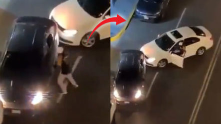"""Conductor """"Quillao"""" Le Entra A Batazos A Un Chofer De Uber En México"""