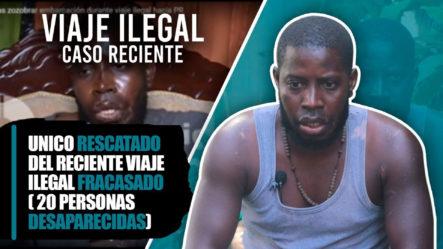 Unico Sobreviviente Del Mas Reciente Caso De Viaje Ilegal Fracasado A Puerto Rico En Yola
