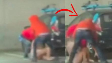 Hombres Atacan A Una Mujer De Manera Brutal En California