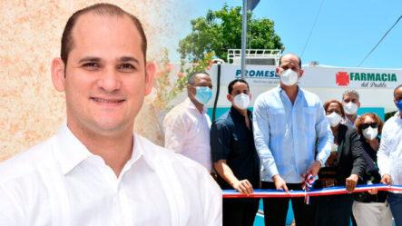 El Pachá Valora El Trabajo De Fito Pérez Con La Colocación De Farmacias Del Pueblo   El Pachá Extra