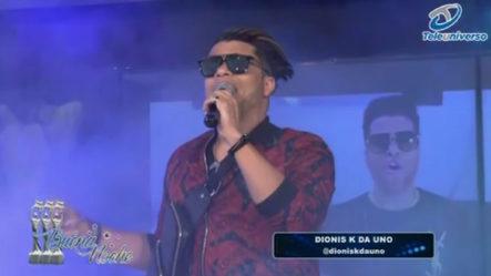 """Presentación Musical De """"Dionis K Da Uno"""" En   Buena Noche"""