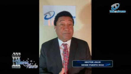 Las Principales Noticias Internacionales Con Héctor Julio En   Buena Noche