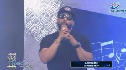 Presentación Musical De  Cartierrr En | Buena Noche