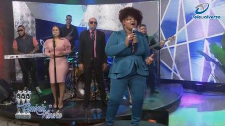 Presentación Musical De Ana Paula En | Buena Noche