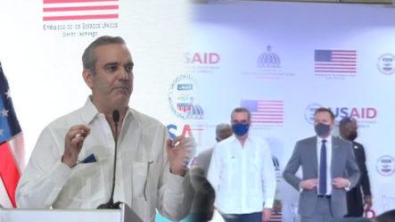 El Presidente Luis Abinader Pone En Marcha La Estrategia De Extensión De Dominio