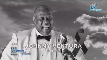 Nelson Javier Se Une Al Dolor Tras La Pérdida De Johnny Ventura En   Buena Noche