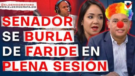 ¿Qué Buscaocultarel SenadorIván Lorenzocon SuataqueaFaride Rafuly Al PRM?