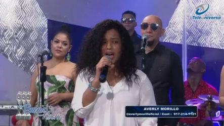 Presentación Musical De Averly Morillo En | Buena Noche