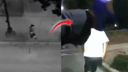Revelan Videos Del Momento En Que Tirotean A Sospechoso De Intento De Asesinato