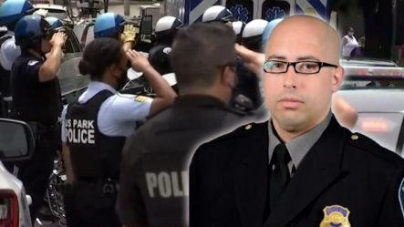 Rinden Honor A Policía Fallecido Que Pertenecía Al Pentágono